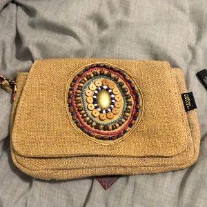Bohemian clutch